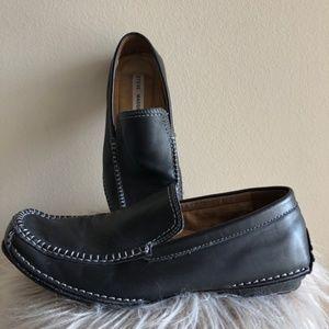 Steve Madden Novo black Leather Nobyll loafer
